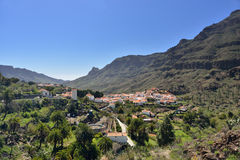 Fataga, Gran Canaria. Mountain village Fataga is one from most popular tourist places to visit in Gran Canaria, Spain. Also, it is known as a place where they Royalty Free Stock Photography