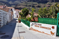 Fataga, Gran Canaria Royalty Free Stock Photo