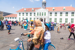 Fatahillah square in Jakarta Stock Photography