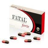 Fatal Lethal Deadly Medicine Pills Stock Photos