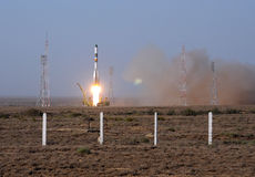 Fatal Progress Space Vehicle Launch Stock Photo
