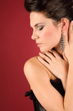 Fatal woman. Royalty Free Stock Photography