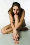 Fatale de Femme Foto de archivo libre de regalías