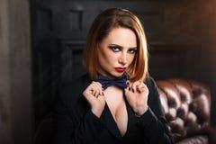 Fatale de Femme Fotografia de Stock Royalty Free
