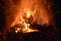 Fatato del fuoco fotografia stock