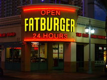 Fatburger restaurant Royalty Free Stock Image