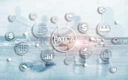 FATCA podatku zgodno?ci Cudzoziemski Obrachunkowy akt Stany Zjednoczone Ameryka prawa biznesu finanse przepisu rz?dowy poj?cie ilustracji
