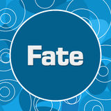 Fate Blue Abstract Background Stock Photo