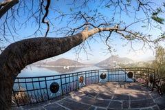 Fateh Sagar lake in India Stock Image