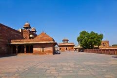 fatehpur印度宫殿sikri 免版税图库摄影