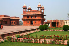 fatehpur印度sikri 库存图片