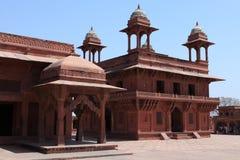Fatehpur宫殿在印度 免版税库存图片