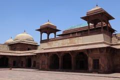 Fatehpur宫殿在印度 图库摄影