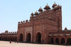Fatehpur宫殿在印度 库存照片