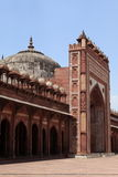 Fatehpur宫殿在印度 库存图片