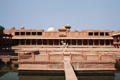 fatehpur anup sikri talao Fotografia Royalty Free