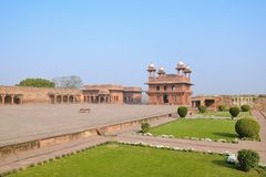 Fatehpur complex Royalty Free Stock Images