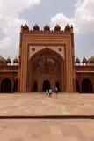 fatehpur ind jama masjid meczetu sikri Obrazy Royalty Free