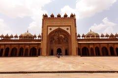 fatehpur ind jama masjid meczetu sikri Zdjęcia Stock