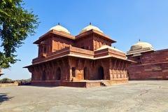 fatehpur ind sikri Ja jest miastem w Agra okręgu w India Ja Fotografia Royalty Free