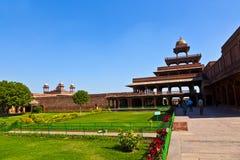 fatehpur ind sikri Ja jest miastem w Agra okręgu w India Ja Obrazy Stock