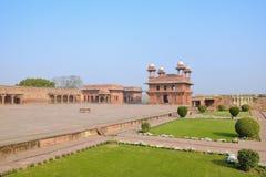 Fatehpur komplex Royaltyfria Bilder