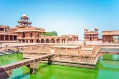 Fatehpur Sikri在印度 免版税库存照片