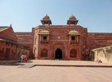 Fatehpur Sikri подразделение Индии, расположенное в районе Агры, в положении Уттар-Прадеш, Индия стоковое изображение