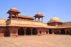 Fatehpur Sikri. Is the historical city was constructed by Mughal emperor Akbar Royalty Free Stock Photo