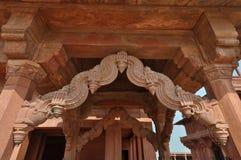 Fatehpur Sikri. Detailed view of Fatehpur Sikri in Agra in Uttar Pradesh, India Royalty Free Stock Image