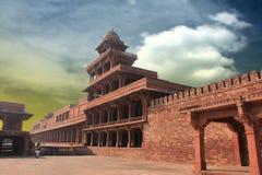 Fatehpur Sikri. Diwan-i-Khas of Fatehpur Sikri palace Stock Photography