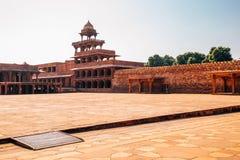 Fatehpur Sikri antyczne ruiny w India zdjęcie royalty free