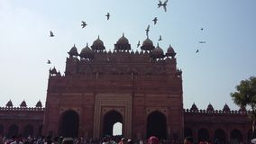 Fatehpur Sikri Buland Darwaza Royalty Free Stock Image