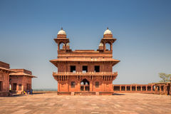 Fatehpur Sikri city. Antient abandoned city of Fatehpur Sikri n the Agra District of Uttar Pradesh, India Stock Images