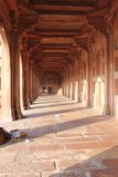 Fatehpur Sikri, Columns and corridor details Stock Images