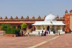 Fatehpur Sikri, die alte Stadt von Maharadschas Lizenzfreies Stockfoto