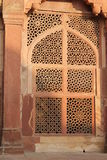 Fatehpur Sikri, doorway detail Royalty Free Stock Photo