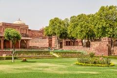 Fatehpur Sikri fort Obraz Stock