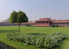 Fatehpur Sikri: gardens. The abandoned capital city of Mughal emperor Akbar Royalty Free Stock Photo