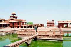 Fatehpur Sikri, India. Ancient Fatehpur Sikri near Agra, India, which was the imperial city of the Mughal dynasty between 1571 and 1584 royalty free stock image