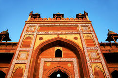 Fatehpur Sikri, India. Built by the great Mughal emperor, Akbar beginning in 1570 Stock Images