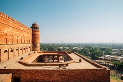 Fatehpur Sikri, Jama Masjid Mosque na Índia imagens de stock royalty free