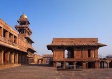 Fatehpur Sikri, la vieille ville des maharajas à Âgrâ, Inde image stock