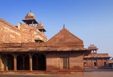 Fatehpur Sikri, la vieille ville des maharajas ? ?gr?, Inde photos libres de droits