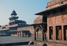 Fatehpur Sikri, la vieille ville des maharajas ? ?gr?, Inde photos stock