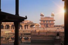 Fatehpur Sikri, la vieille ville des maharajas ? ?gr?, Inde photographie stock