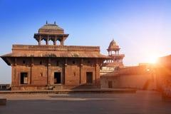 Fatehpur Sikri, la vieille ville des maharajas ? ?gr?, Inde photo libre de droits