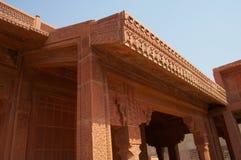 Fatehpur Sikri Lavish Carvings Royalty Free Stock Photo