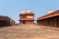 Fatehpur Sikri, miasto w Agra okręgu Uttar Pradesh, Wewnątrz Fotografia Stock