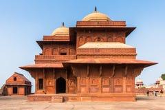 Fatehpur Sikri, miasto w Agra okręgu Uttar Pradesh, Wewnątrz Obrazy Royalty Free